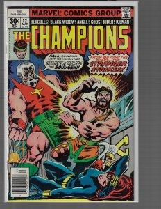 Champions #12 (Marvel, 1977)