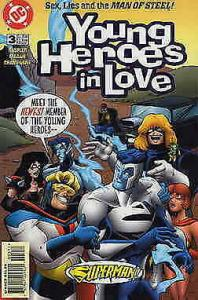 Young Heroes in Love #3 VF/NM; DC | save on shipping - details inside