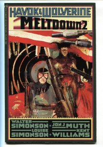 Havok and Wolverine: Meltdown #2 1988 Simonson art-comic book