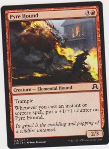 Magic the Gathering: Shadows Over Innistrad - Pyre Hound