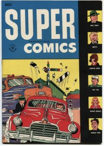 SUPER #94-1946-DICK TRACY-CLYDE BEATTY-LITTLE ORPHAN ANNIE-WINNIE WINKLE--DELL