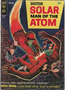 DOCTOR SOLAR THE MAN OF THE ATOM #19 1967 Gold Key VG/GD