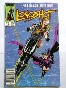 LONGSHOT #2 Marvel Comics 1985 Newsstand (X-Men)
