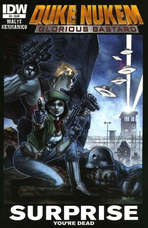 Duke Nukem: Glorious Bastard #3 VF; IDW   save on shipping - details inside