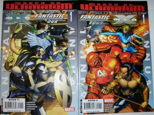 ULTIMATE X-MEN / FANTASTIC FOUR  Set of both Annuals!