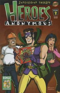 Heroes Anonymous #2 FN; Bongo | save on shipping - details inside