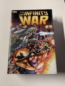 The Infinity War Omnibus Mint Sealed Marvel Hc Tpb Ron Lim