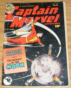 Captain Marvel Adventures #106 GD march 1950 menace of the moon - golden age
