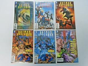 Batman Superman lot #4 to #32 - New 52 - see notes - 33 diff books - 8.0 - 2013