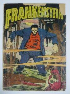FRANKENSTEIN COMICS #20 (PRIZE 8/1952) GOOD (G) Classic Golden Age Horror!