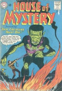 House of Mystery (1951 series) #138, VG (Stock photo)