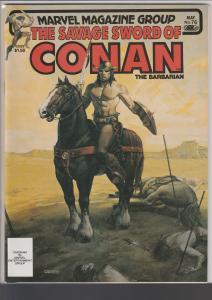 Savage Sword of Conan #76