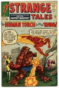 Strange Tales 116 Jan 1964 FI- (5.5)