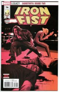 Iron Fist #74 (Marvel, 2018) VF