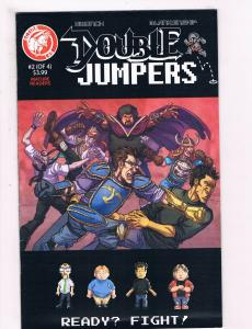 Double Jumpers # 2 O 4 VF 1st Print Action Lab Comic Book Dwonch Blankenship S63