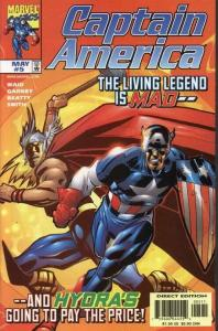 CAPTAIN AMERICA (1998 MARVEL) #5 NM- AGSNZR