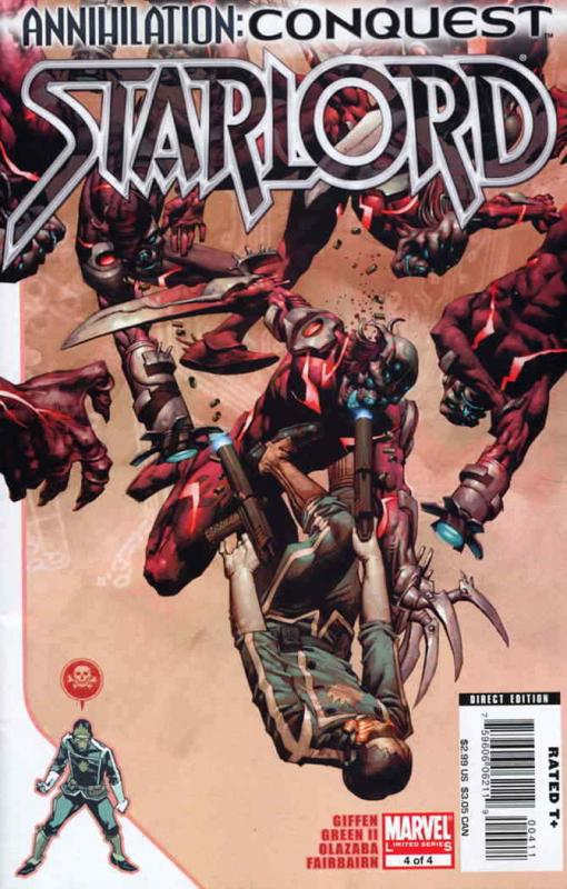 Annihilation: Conquest—Starlord #4 VF/NM; Marvel | save on shipping - details in