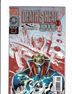 Lot of 3 Death's Head Marvel Comic Books #1(2) 2 MS11