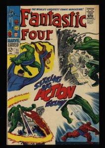 Fantastic Four #71 FN+ 6.5 Marvel Comics