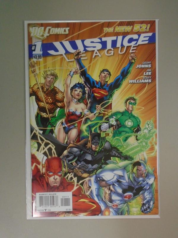 Justice League (2011 DC New 52) #1A, 8.0/VF (2011)