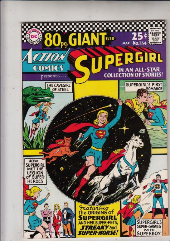 Action Comics #360 (Apr-68) NM- High-Grade Superman