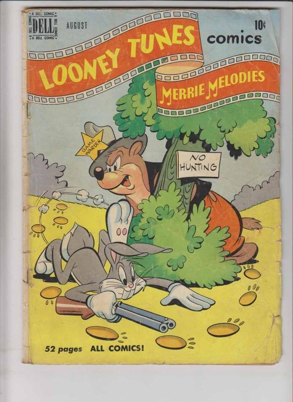 Looney Tunes and Merrie Melodies Comics #106 low grade - august 1950 bugs bunny