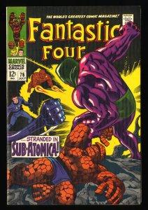 Fantastic Four #76 VF 8.0 Silver Surfer Galactus!