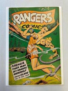 Rangers Comics #39 VF+ 8.5 GOLDEN AGE A.N.C. 1948 Joe Doolin Cover FICTION HOUSE