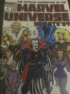 Marvel The Official Marvel Universe  #5 Mint