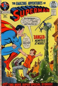 Superman #246 (ungraded) stock photo