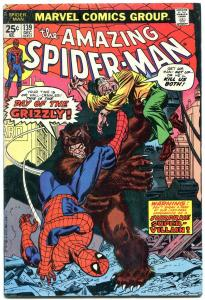 AMAZING SPIDER-MAN #139 1974-MARVEL COMICS-GRIZZLY- vg