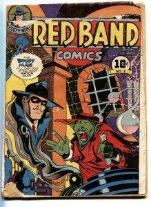 RED BAND #2-1944-BOGEY MAN-SORCERER-SANTANAS-Obscure golden-age
