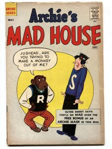 Archie's Madhouse #5 1960- Archie MASK!-Betty and Veronica