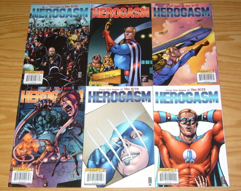 the Boys: Herogasm #1-6 VF/NM complete series - garth ennis - john mccrea set