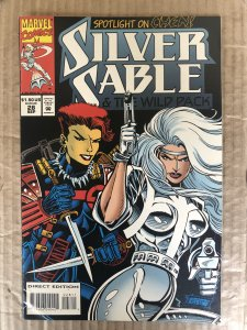 Silver Sable and the Wild Pack #28 (1994)