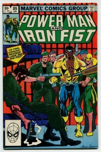 Power Man & Iron Fist 89 NM 9.2 Uncertified Marvel 1983 FREE SHIP