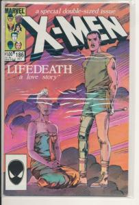 Marvel X-Men #283 Very Fine (8.0) Lifedeath a love story 1984 (796J)