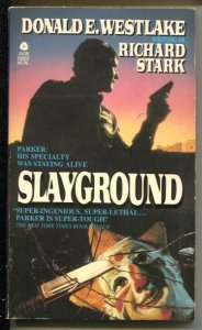 Slayground #380-68866-2 1984-Avon-Richard Stark-hardboiled pulp type crime-FN