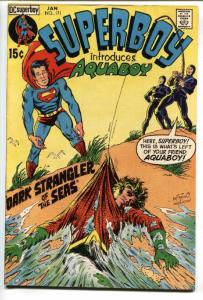 Superboy #171 comic book 1971-DC VF- First appearance of AQUABOY.