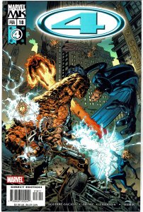 Marvel Knights 4 #18 - Fantastic Four NM+