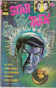 Star Trek #35 (Nov-75) FN Mid-Grade Captain Kirk, Mr Spock, Bones, Scotty