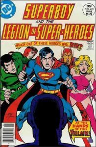 DC SUPERBOY & THE LEGION OF SUPER-HEROES #228 FN
