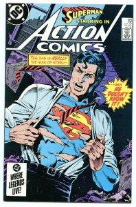 Action Comics 564 Feb 1985 NM- (9.2)