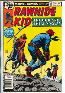 Rawhide Kid #150 1978-Marvel-Outlaw Kid-Roussos-penultimate issue-VF/NM