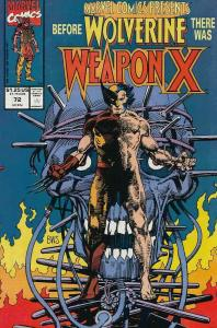 MARVEL COMICS PRESENTS 72-84 WEAPON X BW SMITH