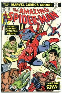 AMAZING SPIDER-MAN #140 1975-MARVEL COMICS-GRIZZLY- FN/VF