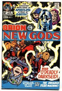 NEW GODS #2 1st Darkseid cover-comic book-JACK KIRBY-DC 1971