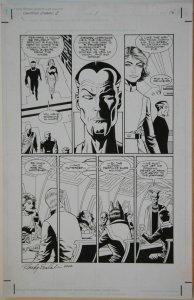 PAUL GULACY / RANDY EMBERLIN original art, STAR WARS CRIMSON EMPIRE II #1 pg 16