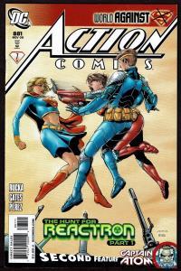 Action Comics #881 (Nov 2009, DC) Captain Atom Backup Story 9.0 VF/NM