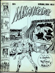 Masquerader #6 1964-Ronn Foss-final issue-Jack Kirby-EC Comics-G/VG